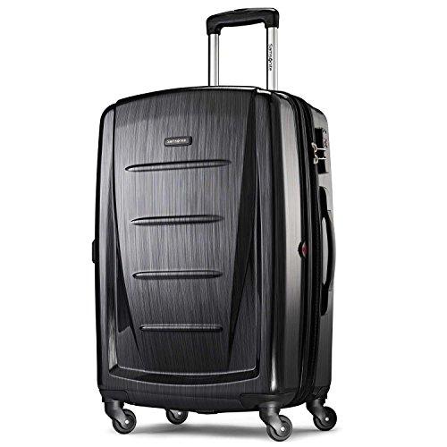 Samsonite Winfield 2 Hardside Luggage, Brushed Anthracite, Checked-Large